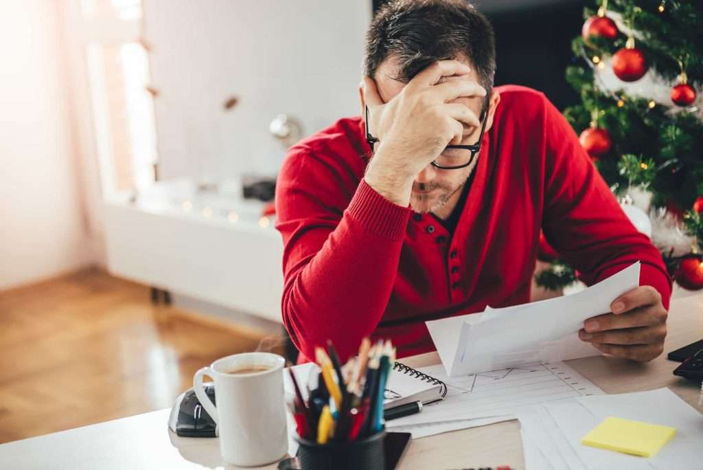 Festive stress in the workplace