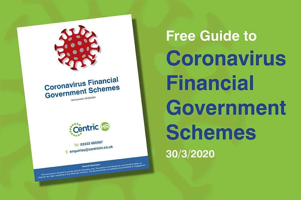 Coronavirus Financial Government Schemes - Centric HR